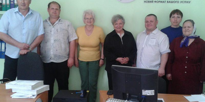 Ольга Шевель відвідала з дружнім візитом Кам`янську та Городищенську філії КС